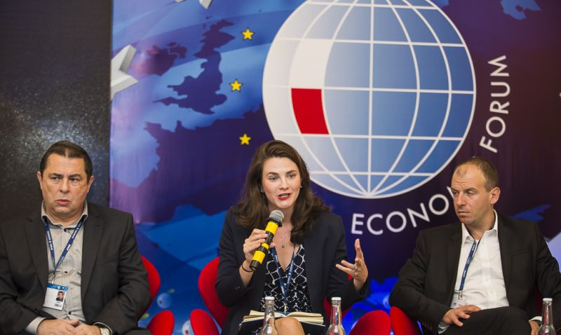 Nina Jankowicz at Krynica Economic Forum